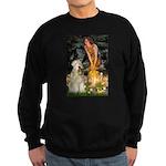 Fairies & Wheaten Terrier Sweatshirt (dark)