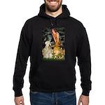 Fairies & Wheaten Terrier Hoodie (dark)