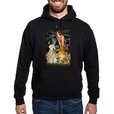 Fairies & Wheaten Terrier Hoody