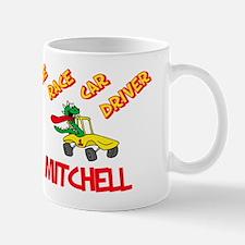 Mitchell Race Car Driver Mug