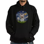 Starry Night Yorkie (T) Hoodie (dark)