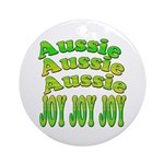 Australian Christmas Gifts, A Ornament (Round)