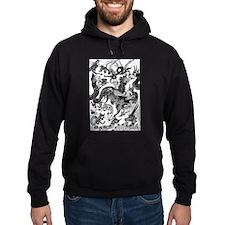 Black Multidragon Hoodie