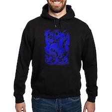 Blue Multidragon Hoodie