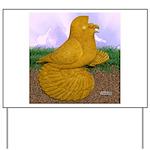Yellow ET Pigeon Yard Sign