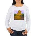 Yellow ET Pigeon Women's Long Sleeve T-Shirt