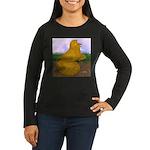 Yellow ET Pigeon Women's Long Sleeve Dark T-Shirt