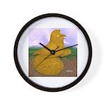 Yellow ET Pigeon Wall Clock