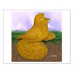 Yellow ET Pigeon Small Poster