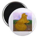 Yellow ET Pigeon Magnet