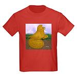 Yellow ET Pigeon Kids Dark T-Shirt