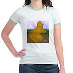 Yellow ET Pigeon Jr. Ringer T-Shirt