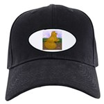 Yellow ET Pigeon Black Cap