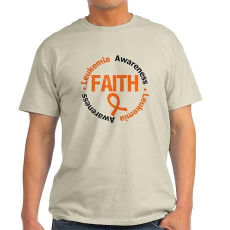 Leukemia Faith Light T-Shirt