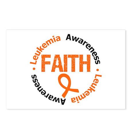 Leukemia Faith Postcards (Package of 8)