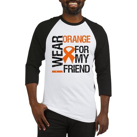 I Wear Orange For My Friend Baseball Jersey