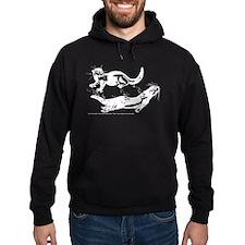 White Otters Hoodie