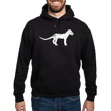 Thylacine Standing Hoodie