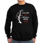 Lion and the Lamb Sweatshirt (dark)