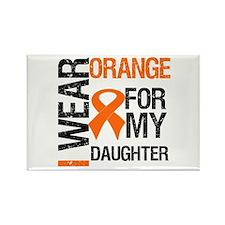 I Wear Orange For Daughter Rectangle Magnet