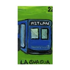 Loteria Series 08: La Gua Gua Rectangle Decal
