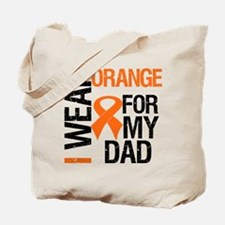 I Wear Orange For My Dad Tote Bag