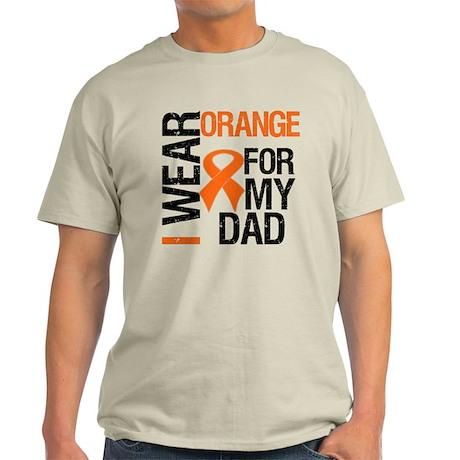 I Wear Orange For My Dad Light T-Shirt