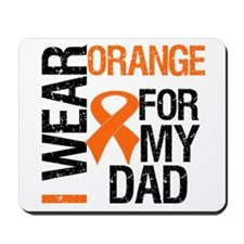 I Wear Orange For My Dad Mousepad