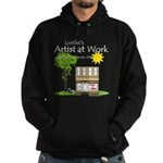 Lorilei's Artist at Work Hoodie (dark)