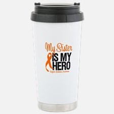 LeukemiaHero Sister Travel Mug