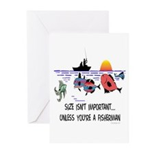 Fisherman Saying Greeting Cards (Pk of 10)