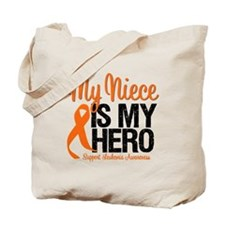 LeukemiaHero Niece Tote Bag