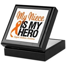 LeukemiaHero Niece Keepsake Box