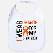 I Wear Orange For Brother Bib