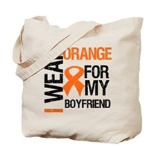 I Wear Orange Boyfriend Tote Bag
