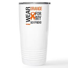I Wear Orange Boyfriend Travel Mug
