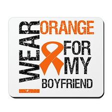 I Wear Orange Boyfriend Mousepad