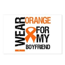 I Wear Orange Boyfriend Postcards (Package of 8)