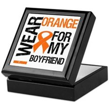I Wear Orange Boyfriend Keepsake Box