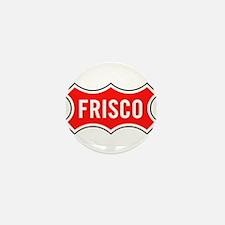 Frisco Railroad Mini Button
