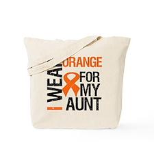 I Wear Orange For My Aunt Tote Bag