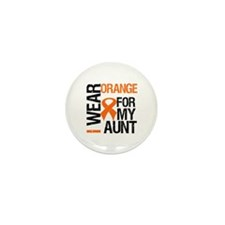 I Wear Orange For My Aunt Mini Button (10 pack)