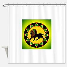 Funny Reggae Shower Curtain