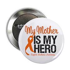 """LeukemiaHero Mother 2.25"""" Button"""