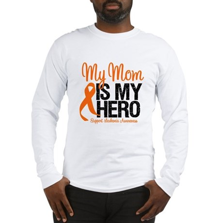 LeukemiaHero Mom Long Sleeve T-Shirt