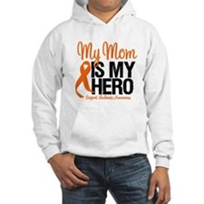LeukemiaHero Mom Hoodie Sweatshirt