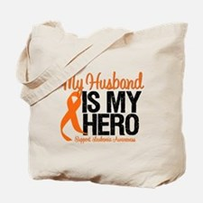 LeukemiaHero Husband Tote Bag