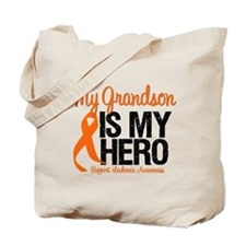LeukemiaHero Grandson Tote Bag