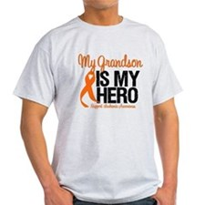 LeukemiaHero Grandson T-Shirt