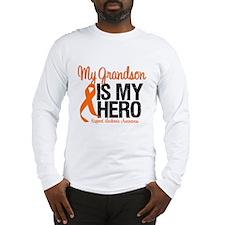 LeukemiaHero Grandson Long Sleeve T-Shirt